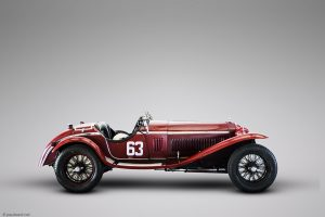 Alfa Romeo 8C by car photographer Paul Ward