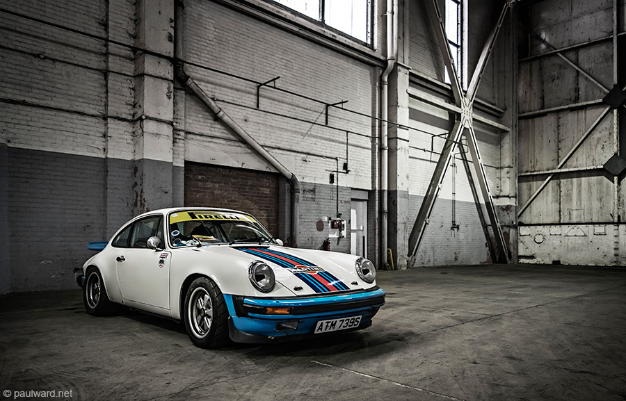 Porsche 911 by car photographer Paul Ward
