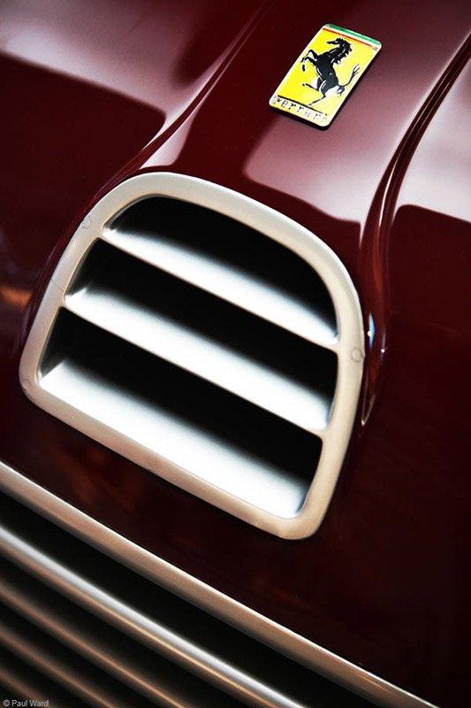 Ferrari emblem by car photographer Paul Ward