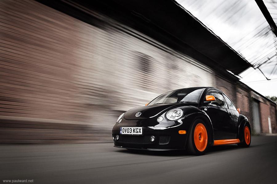 VW Beetle by car photographer Paul Ward
