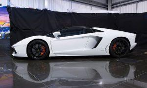 Lamborghini shoot setup