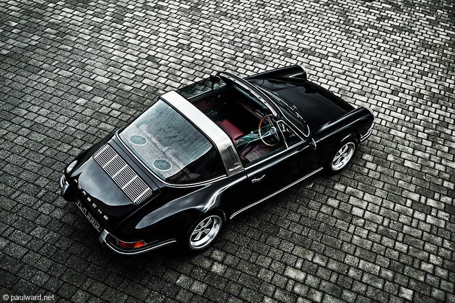 Porsche 911 Targa by Automotive photographer Paul Ward, car photography