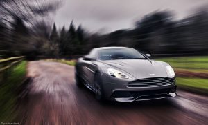 Aston Martin moving image