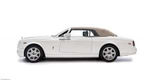 Rolls Royce Phantom drophead studio shot by car photographer Paul Ward