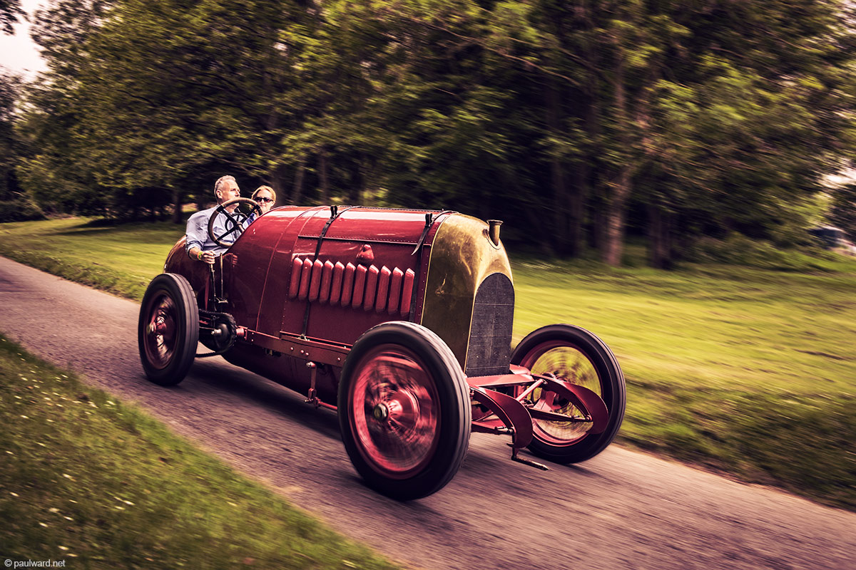 Fiat s76 Beast of Turin by car photographer Paul Ward