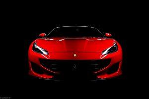Ferrari Portofino red photography by Paul Ward