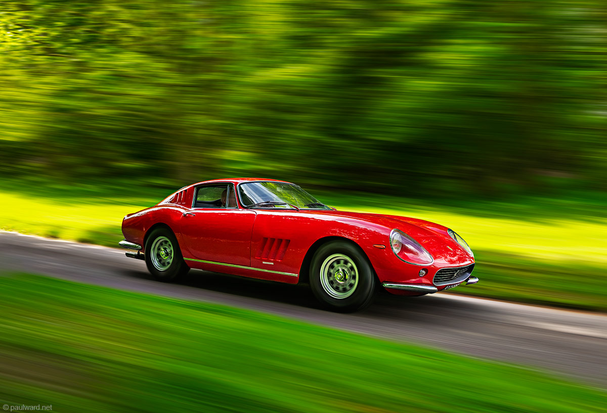 Ferrari 275, car photography by Paul Ward, Automotive photographer, Birmingham