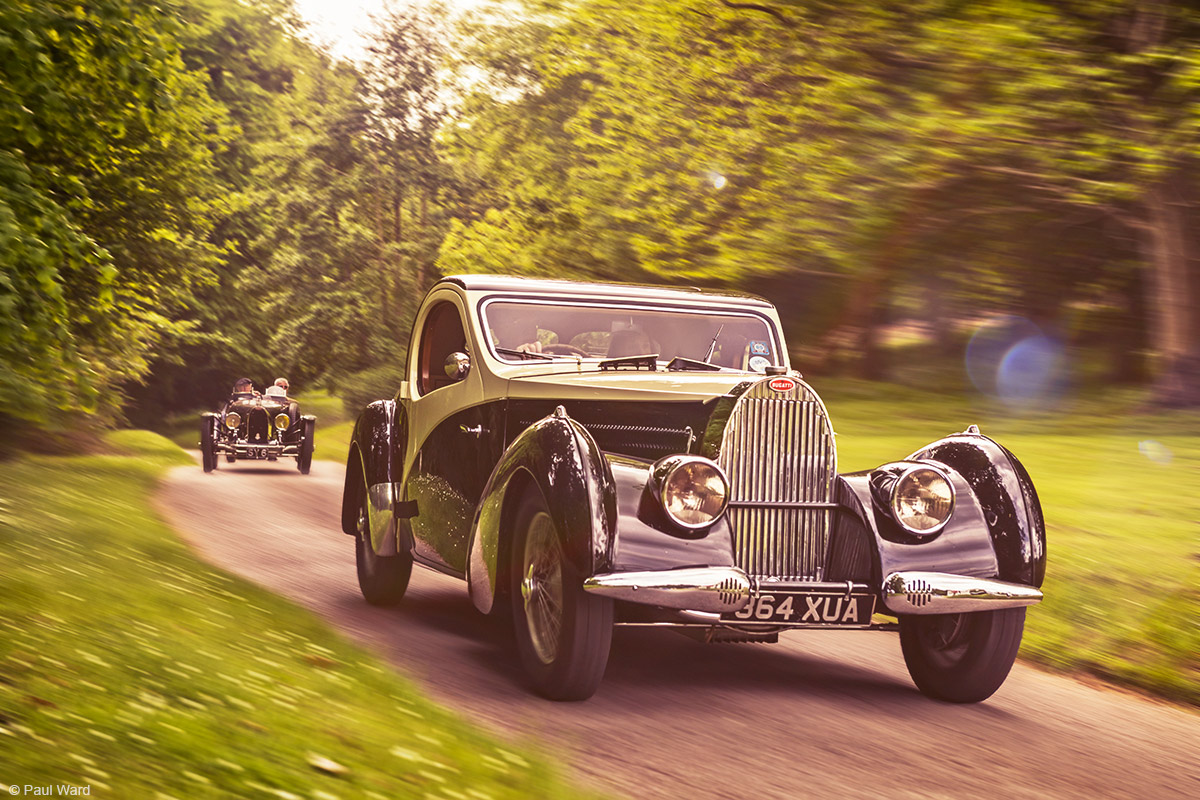 Bugatti type 57 by Birmingham car photographer Paul Ward