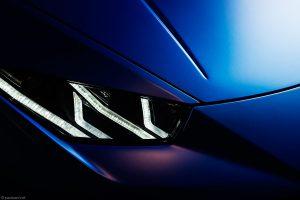 Lamborghini Huracan Performante by Automotive photographer Paul Ward, car photography, supercar
