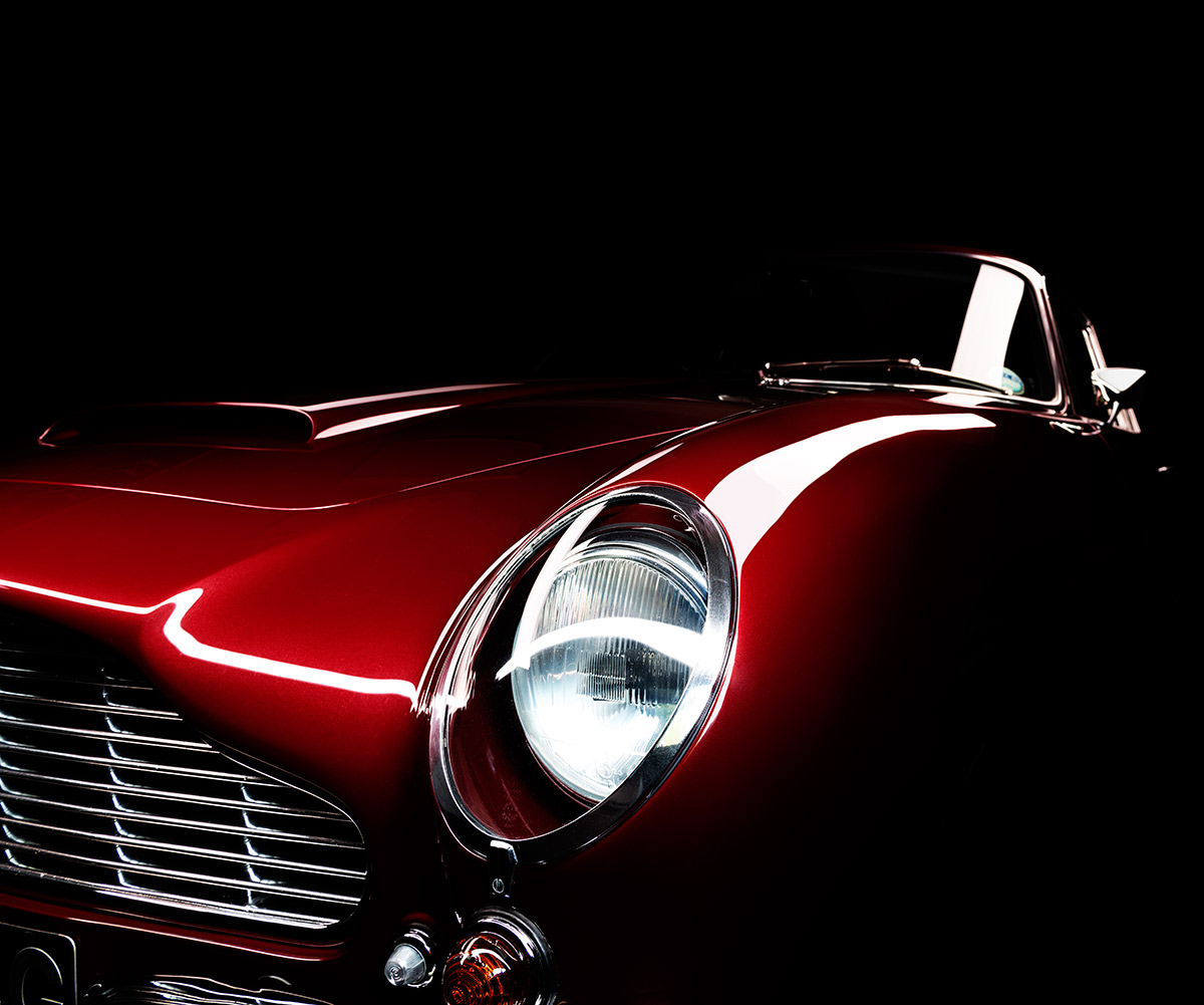 Aston Martin DB6 by automotive photographer Paul Ward, classic cars